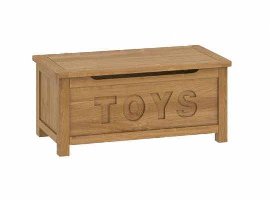 Suffolk Oak Toy Box