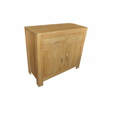 Oxford Oak 2 Door 2 Drawer Sideboard