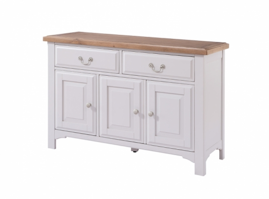 Bloomsbury Grey Large Sideboard and Sideboard Top