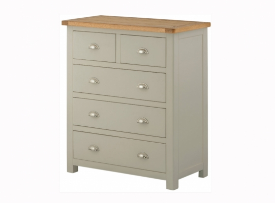 Suffolk Stone 3+2 Chest of Drawers