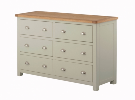 Suffolk Stone 6 Chest of Drawers