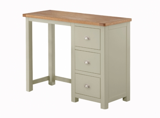 Suffolk Stone Single Pedestal Dressing Table