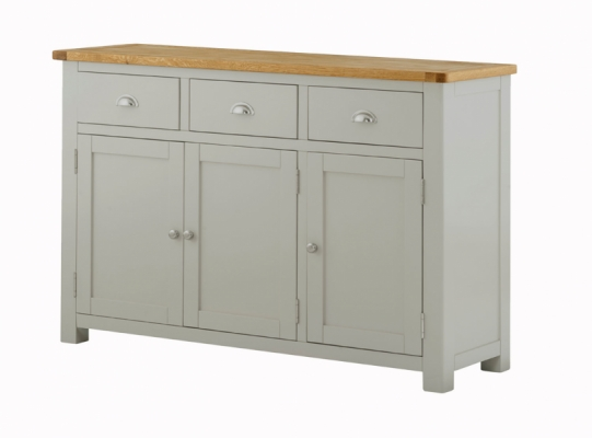Suffolk Stone 3 Door 3 Drawer Sideboard
