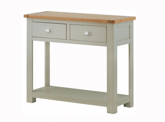 Suffolk Stone 2 Drawer Console Table