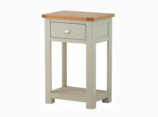 Suffolk Stone 1 Drawer Console Table