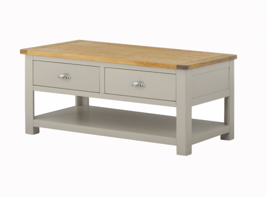 Suffolk Stone 2 Drawer Coffee Table
