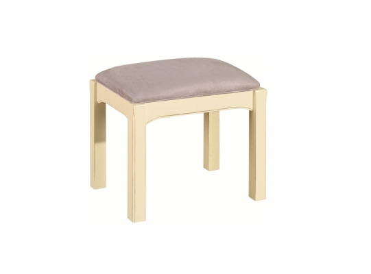 Bloomsbury Cream Dressing Table Stool