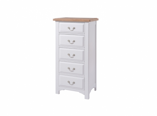 Bloomsbury Grey 5 Chest of Drawers