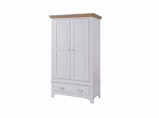 Bloomsbury Grey 1 Drawer Wardrobe