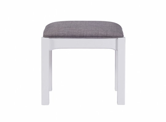 Bloomsbury Grey Stool
