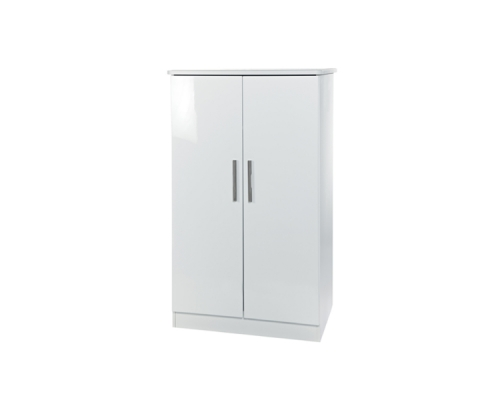 Knightsbridge 2ft6in Plain Midi Wardrobe