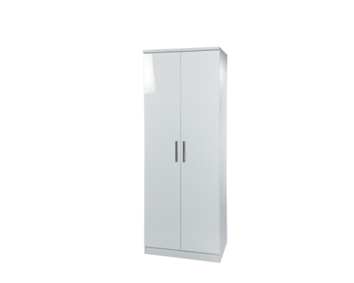 Knightsbridge Tall 2ft6in Plain Wardrobe