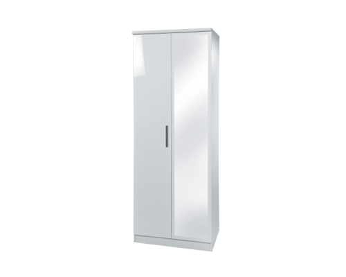 Knightsbridge 2ft6in Mirror Wardrobe