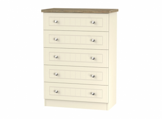 Vienna 5 Drawer Chest