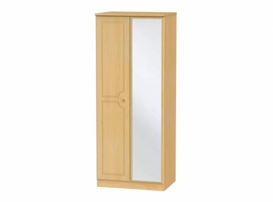 Pembroke 2ft6in Mirror Wardrobe