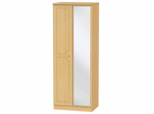 Pembroke Tall 2ft6in Mirror Wardrobe