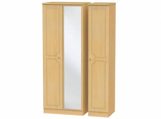 Pembroke Tall Triple Mirror Wardrobe