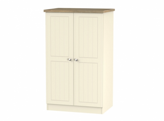 Vienna 2ft6in Plain Midi Wardrobe