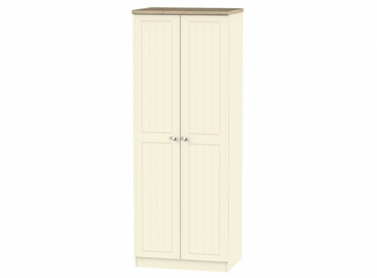 Vienna Tall 2ft6in Plain Wardrobe