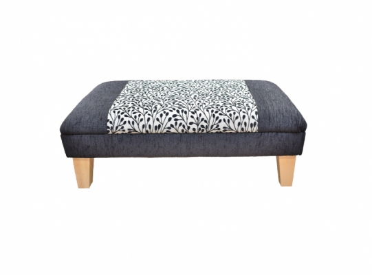 Long Low Footstool