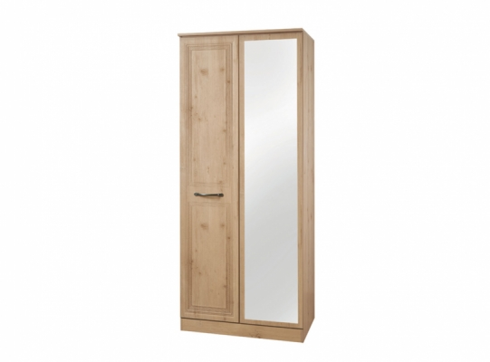 Oyster Bay 2ft6in Mirror Wardrobe