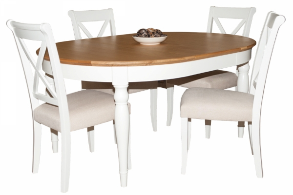 Hampstead Dining Table & 4 Chairs Contemporary
