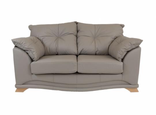 Nicole Leather 2 Seater Sofa