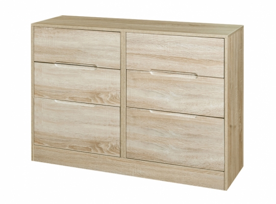 Monaco 6 Drawer Midi Chest