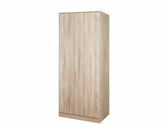 Monaco Tall 2ft6in Plain Wardrobe