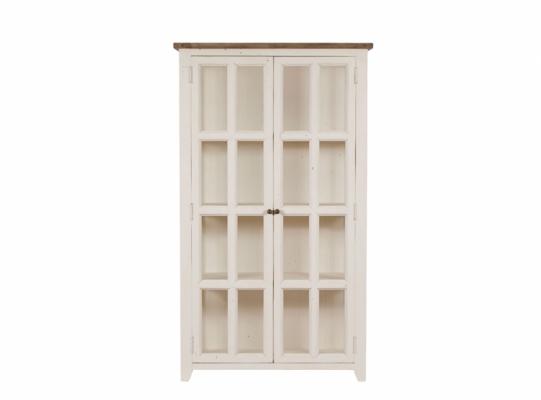 Wychwood 2 Door Glazed Cabinet