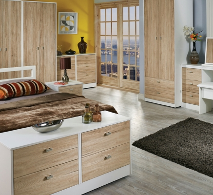 Dubai 4 Drawer Bed Box