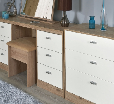 Dubai 3 Drawer Deep Chest