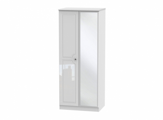Balmoral 2ft6in Mirror Wardrobe