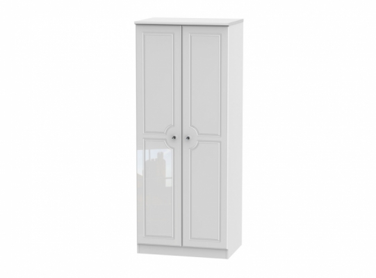 Balmoral 2ft6in Plain Wardrobe