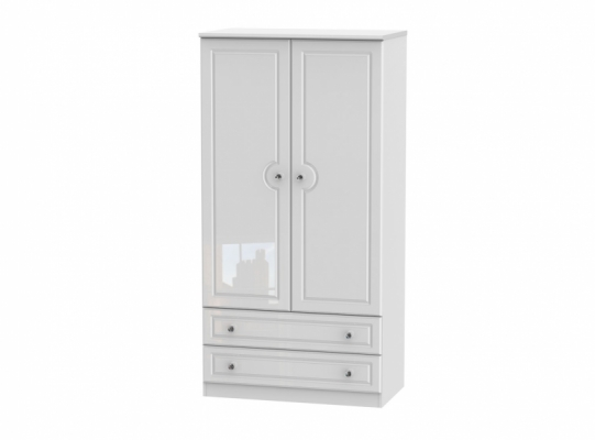 Balmoral 3ft 2 Drawer Wardrobe
