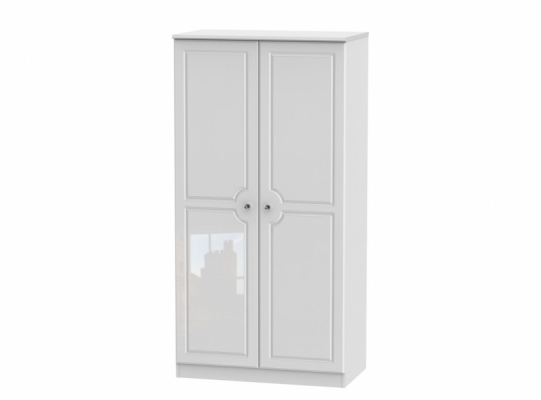 Balmoral 3ft Plain Wardrobe