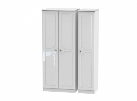 Balmoral Triple Plain Wardrobe