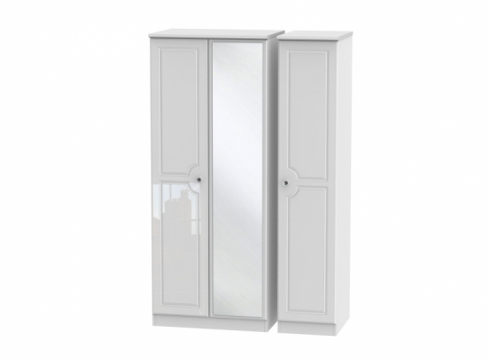 Balmoral Triple Mirror Wardrobe