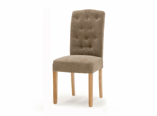Everest Oak Leg Dining Chair (Camel)